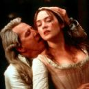 Geoffrey Rush as the Marquis de Sade and Kate Winslet as Madeleine in Fox Searchlight's Quills - 2000