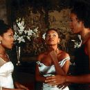 Monica Calhoun, Nia Long and Sanaa Lathan in Universal's The Best Man - 10/99