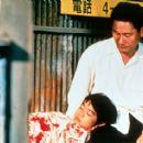 Takeshi Kitano as Kikujiro and Yusuke Sekiguchi as Masao in Sony Pictures Classics' Kikujiro - 2000
