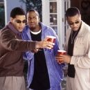 Mel Jackson (left), Dartanyan Edmonds (center) and Duane Martin (right) in Focus' Deliver Us From Eva - 2003