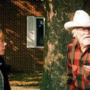 Sissy Spacek and Richard Farnsworth in Disney's The Straight Story - 10/99