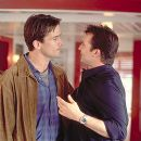 Bill Campbell and Noah Wyle in Columbia's Enough - 2002