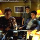 Noah Emmerich, Michael Cera and James Caviezel in New Line's Frequency - 2000