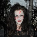 Imogen Thomas Trick Or Treating For Halloween