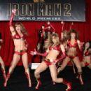 Rachele Brooke Smith as an Ironette Dancerin Iron Man 2 (2010)