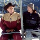 Lee Majors and Jason London in Touchstone's Out Cold - 2001