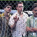 Evan Neumann, Gerry Rosenthal and Ben Foster in Warner Brothers' Liberty Heights - 11/99