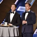 The 67th Primetime Emmy Awards - Andy Samberg and Seth Meyers (2015)