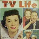 Gisele MacKenzie, Sid Caesar, Nanette Fabray, Roy Rogers, Dale Evans - TV Picture Life Magazine Cover [United States] (August 1956)