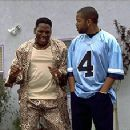 Don 'D.C.' Curry and Ice Cube in New Line's Next Friday - 1/2000