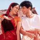 Gracy Singh and Aamir Khan in Sony Pictures Classics' Lagaan - 2002