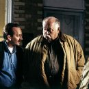 Richard Dutcher and Wilford Brimley in Excel Entertainment's Brigham City - 2001