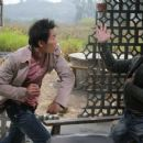 Collin Chou as Tony and Donnie Yen as Det. Ma Jun in Flash Point. - 454 x 303