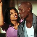 Taraji P. Henson and Tyrese Gibson in Columbia's Baby Boy - 2001