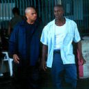 Omar Gooding and Tyrese Gibson in Columbia's Baby Boy - 2001