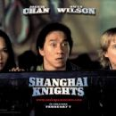 Fann Wong, Jackie Chan and Owen Wilson in Touchstone's Shanghai Knights - 2003