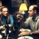 Heather Graham and Stanley Tucci in Paramount Classics' Sidewalks of New York - 2001