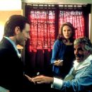 Edward Burns, Nadia Dajani and Dennis Farina in Paramount Classics' Sidewalks of New York - 2001