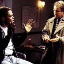 Samuel L. Jackson and J.T. Walsh in Warner Brothers' The Negotiator - 1998