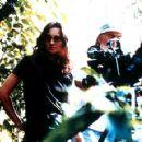 Director and writer Lucrecia Martel on the set of Cowboy Booking's La Cienaga - 2001 - 400 x 291
