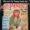 Charlotta Bergsoe - Male Point Magazine Cover [United States] (August 1958)