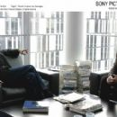 Left: Bernard Le Coq as Georges's Editor; Right: Daniel Auteuil as Georges; All photos courtesy of Les Films du Losange and Sony Pictures Classics, all rights reserved.