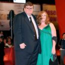 Michael Moore and Kathleen Glynn - 393 x 594