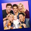 ABC Family may have a new hit show on their hands with their new comedy, Baby Daddy, starring Jean-Luc Bilodeau, Chelsea Kane, and Tahj Mowry! - 390 x 295