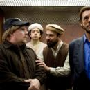 Kevin P. Farley as Michael Malone, Geoffrey Arend as Mohammed, Serdar Kalsin as Ahmed and Robert Davi as Aziz in An American Carol.
