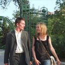 Ethan Hawke and Julie Delpy star as Jesse and Celine in Richard Linklater's BEFORE SUNSET, a Warner Independent Pictures release.