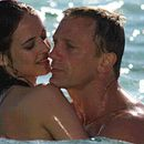 Eva Green as Vesper Lynd and Daniel Craig as James Bond in director Martin Campbell movie, Casino Royale - 2006.