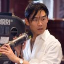 Director James Wan behind the scene of Death Sentence.
