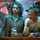 (left to right) Edgar Ramirez stars as Choco and Mickey Rourke stars as Ed Moseby in New Line Cinemas release of Tony Scotts wild action thriller, Domino