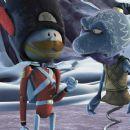 Solider Sam (voiced by Bill Hader) and Zeebad (voiced by Jon Stewart) in The Weinstein Company's Doogal