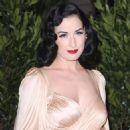 Dita Von Teese - Grand Opening Of Catherine Malandrino Maison In Los Angeles, 20.10.2008.