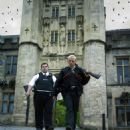 Danny (Nick Frost) and Angel (Simon Pegg) in Rogue Pictures' Hot Fuzz - 2007