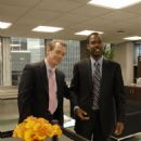 From left: Steve Buscemi and Chris Rock in I THINK I LOVE MY WIFE. Photo Credit: Phil Caruso