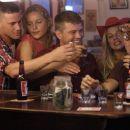Left to Right: Steve Shriver (Channing Tatum), Michelle (Abbie Cornish), Brandon King (Ryan Phillippe), Karen (Marie Mizener) and Tommy Burgess (Joseph Gordon-Levitt) in Paramount Pictures drama war's STOP LOSS.