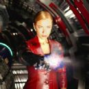 Kristanna Loken in the futuristic action thriller 'Terminator 3: Rise of the Machines,' distributed by Warner Bros. Pictures.