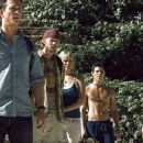 Jeff (Jonathan Tucker), Eric (Shawn Ashmore), Stacy (Laura Ramsey), Pablo (Dimitri Baveas) and Amy (Jena Malone) in The Ruins.