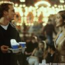 Matthew McConaughey and Jennifer Lopez in the Columbia Pictures presentation, The Wedding Planner - 2001