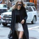 Gigi Hadid is spotted out for dinner in New York City, New York on June 17, 2016 - 372 x 600