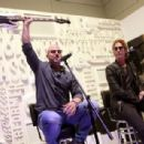 Duff McKagan makes an appearance at the Fender booth during the 2019 NAMM Show at the Anaheim Convention Center on January 26, 2019 in Anaheim, California - 454 x 307