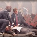 Richard T. Jones and Dennis Quaid in drama thriller Columbia Pictures' Vantage Point.