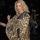 Rita Ora arriving to perform live in concert at the Highline Ballroom in New York December 22, 2012