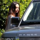 Megan Fox - Leaves Her Home And Heads To Warner Bros. Studios In Burbank, Los Angeles, 1. 4. 2009.