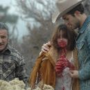 Kristin Erickson as Isabelle (center) and Jeffrey Combs as Sheriff Jimmy (right) - 259 x 172