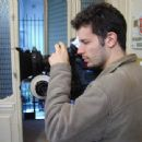 Director Daniel Burman on a set Family Law - 2006