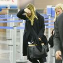 Mary Kate Olsen Arrives At Jfk Airport In Nyc