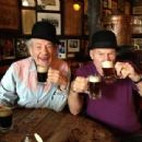 Patrick Stewart & good friend Ian McKellen